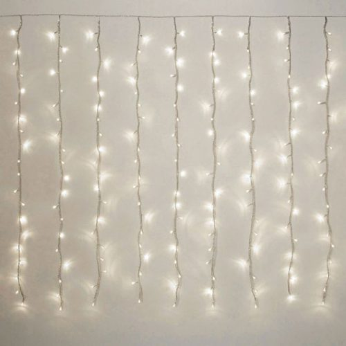 Fairy light curtains